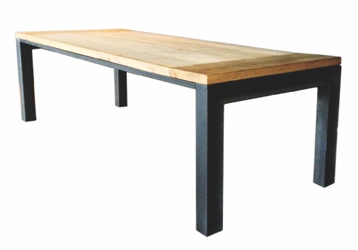 Stalen Design Tafel.Tafel Detroit Industriele Tafel Ardworks Design Unieke Zware Tafels